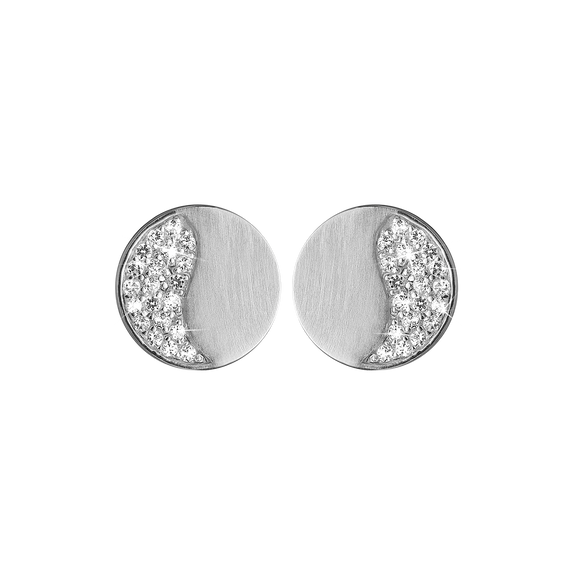 Moonlight Studs Silver with Gemstones