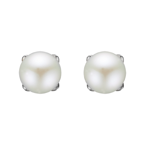 There is no other gemstones that says Girls Power as the Pearl.  The Pearl is found  in its  perfect spherical shape within the Oyster shell, it represents hidden knowledge, femininity, perfection and incorruptibility.  Your Pearl Stud Earrings are delicately handcrafted in 925 Sterling Silver and finished with an 18ct Gold or Rhodium Plating.