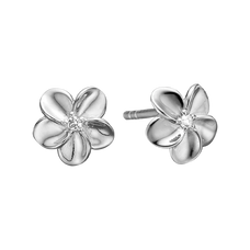 Load image into Gallery viewer, Flowers mean so many different things to so many different people.  What will your flowers mean to you?  For that special touch every piece in our Jewellery Collection is delicately handcrafted in 925 Sterling Silver and finished with a Rhodium Plating.