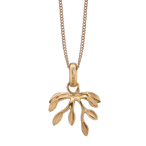 Forest Necklace Gold