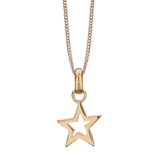 Load image into Gallery viewer, Star Necklace Gold