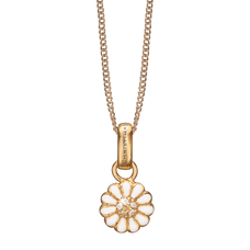 Load image into Gallery viewer, Petite  Marguerite Necklace Gold with Gemstones