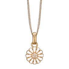 Load image into Gallery viewer, Small Marguerite Necklace Gold with Gemstones