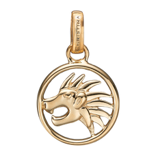 Load image into Gallery viewer, Zodiac Leo Pendant Gold