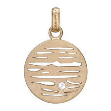 Load image into Gallery viewer, Jupiter Pendant Gold with Gemstones