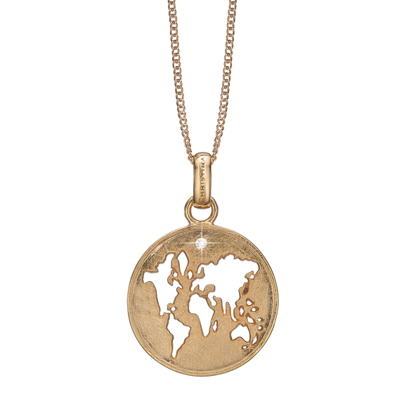 The World Necklace Gold with Gemstones
