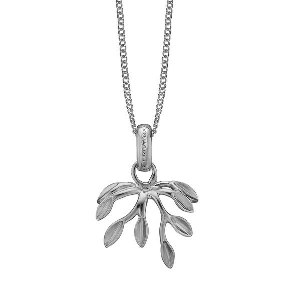Forest Necklace Silver