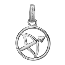 Load image into Gallery viewer, Zodiac Sagittarius Pendant Silver