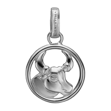 Load image into Gallery viewer, Zodiac Taurus Pendant Silver