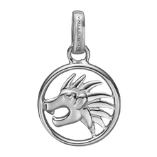 Load image into Gallery viewer, Zodiac Leo Pendant Silver
