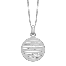 Load image into Gallery viewer, Jupiter Necklace Silver with Gemstones