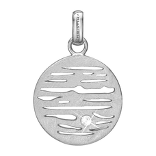 Load image into Gallery viewer, Jupiter Pendant Silver with Gemstones