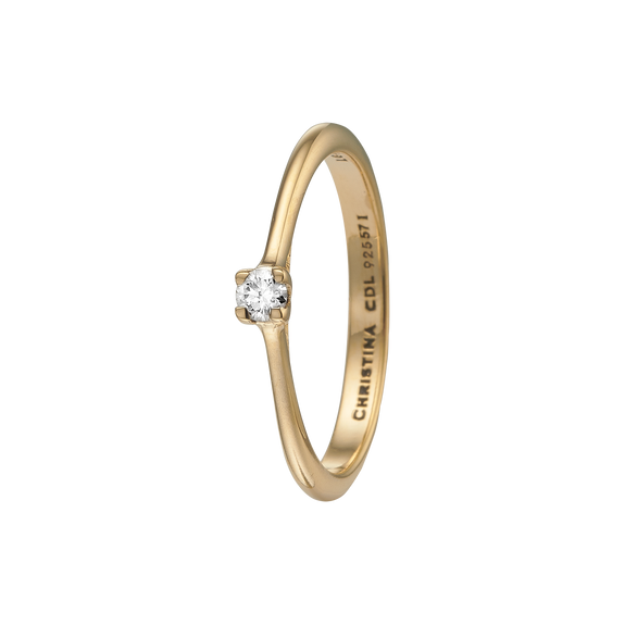 Large Diamond Ring Gold with Gemstones