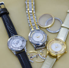 Load image into Gallery viewer, Two Tone Bouquet, Collect Watch Set with Two Tone Steel bracelet