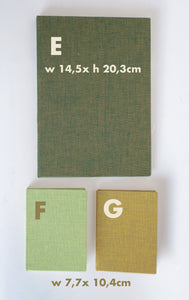 Note Book / Notizbuch w. Tomoe River Paper- Various Sizes!