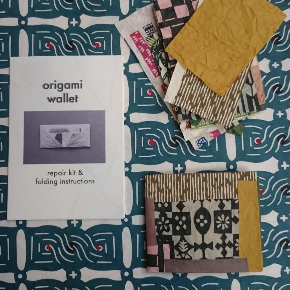 Origami Wallet Repair Kit + Folding Instructions