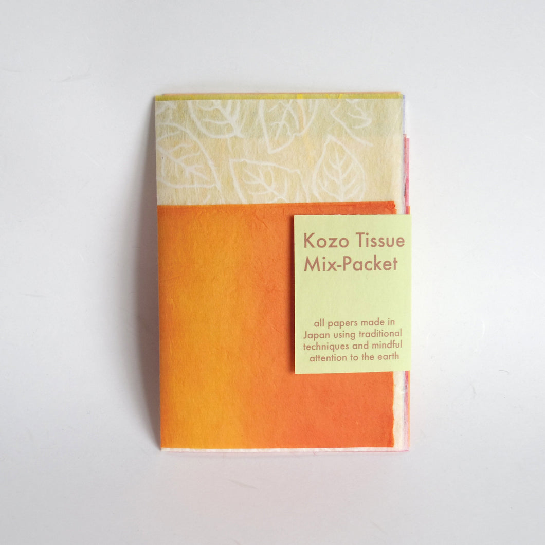 Kozo Tissue Mix-Packet Summer