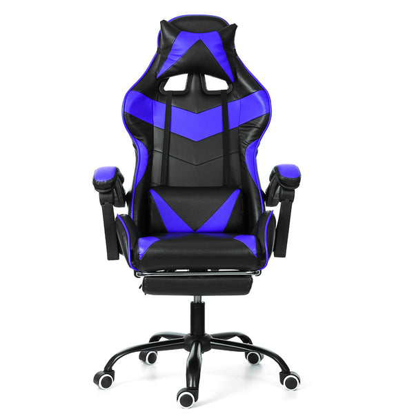 Gold Office™ Gaming High Back Reclining Ergonomic Adjustable Rotating Lift Chair with Footrest