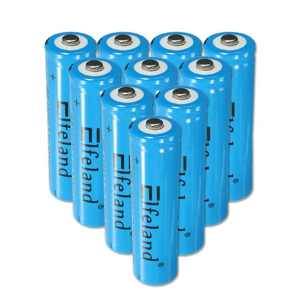 Elfeland™ 18650 Rechargeable Lithium Battery 3000mah  3v