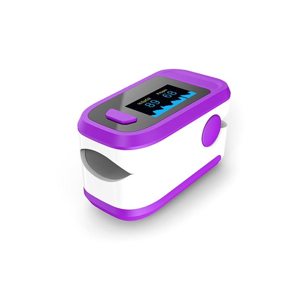 Blood Oxygen Saturation Monitor Finger Pulse Oximeter SPO2