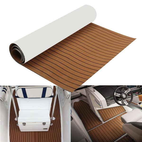 Gold Boat™ Teak Marine Flooring Foam Boat Deck Cover