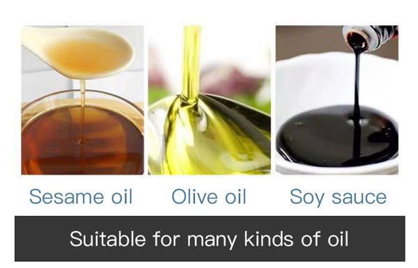 Gold Kitchen™ Olive Oil Spray Bottle EVOO Cooking Mister Vinegar Refillable
