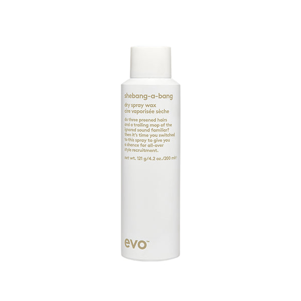 EVO Shebang-a-bang dry wax spray