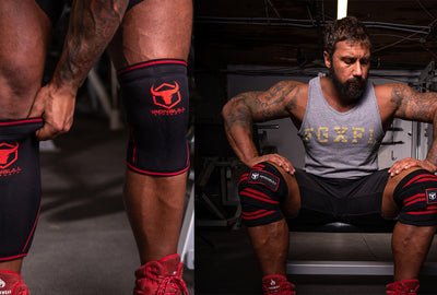 Knee Wraps vs. Knee Sleeves in Powerlifting