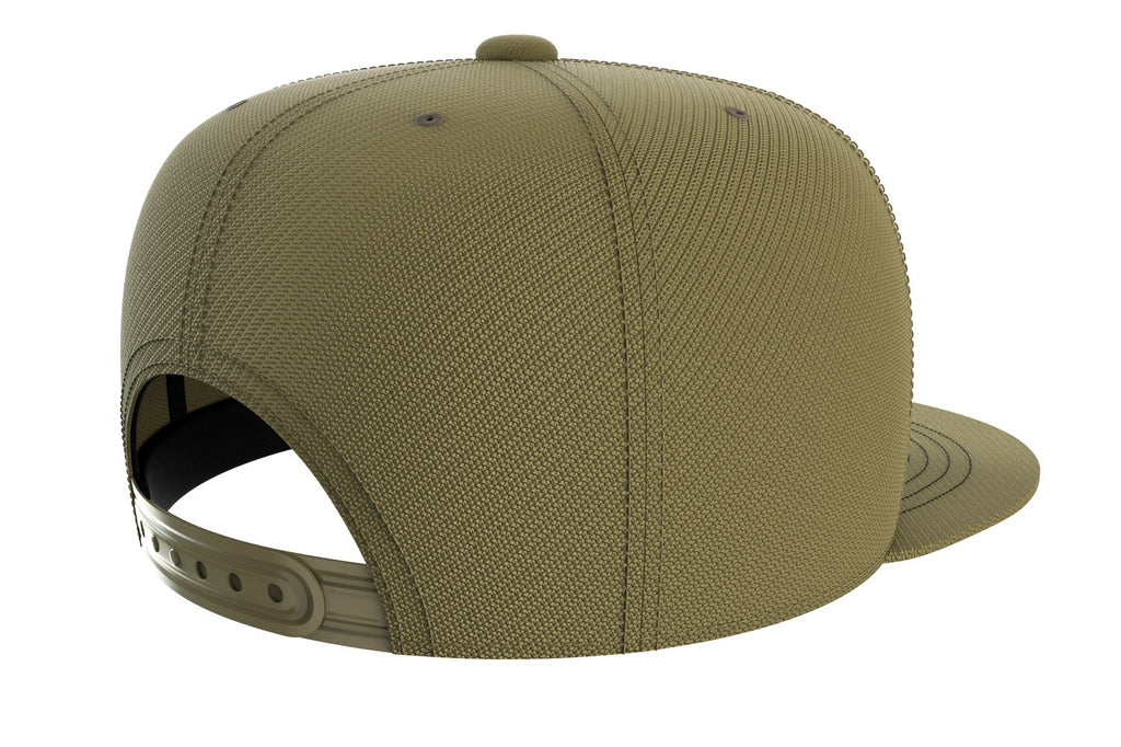 army-green adjustable snapback iron bull strength