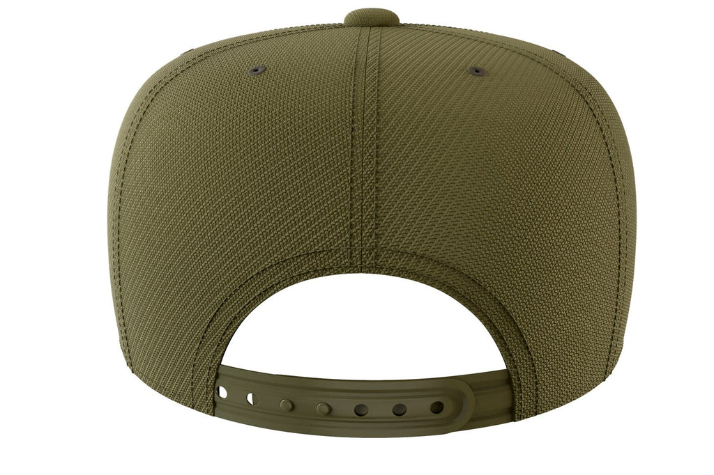 army-green snapback iron bull strength