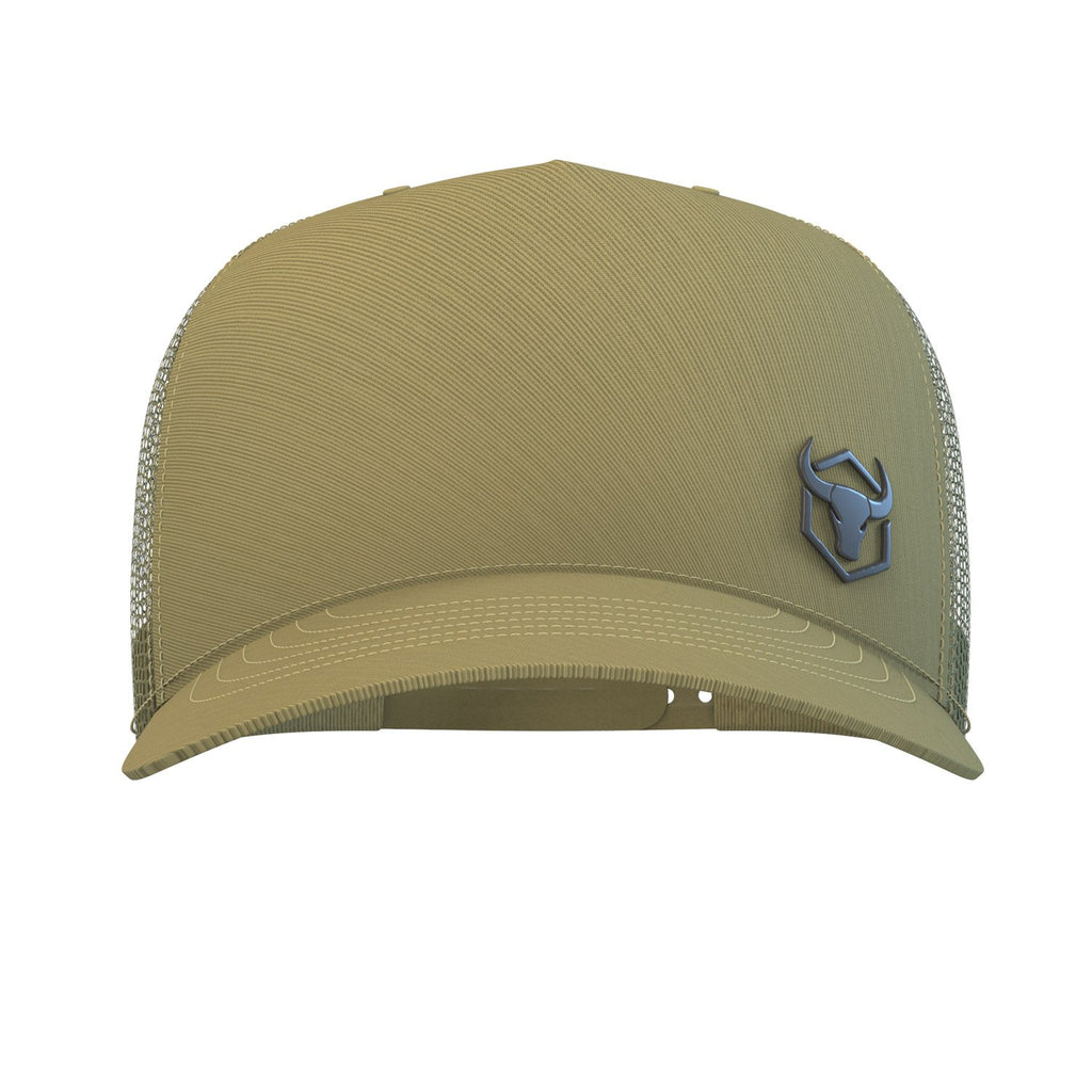 army-green trucker hat iron bull strength