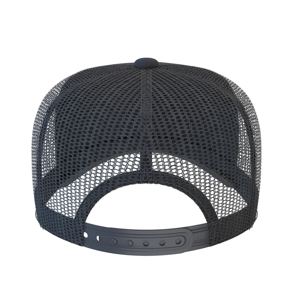black comfortable trucker hat
