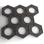 fractional plates honeycomb