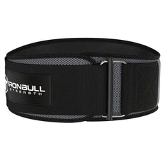 gray iron bull strength 6 inches weightlifting belt