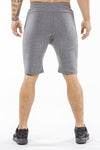 gray comfortable soft workout shorts