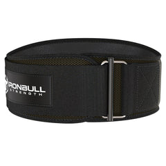 army-green iron bull strength 6 inches weightlifting belt