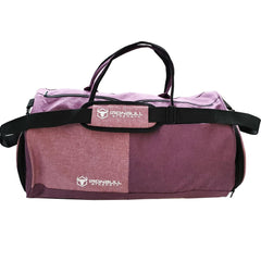 fuchsia gym duffle bag front view