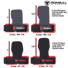 all ez gripz weight ligting straps features comparison
