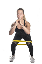 mini resistance bands squat iron bull strength