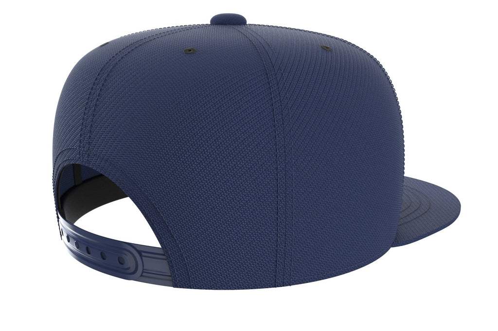 navy-blue adjustable snapback iron bull strength