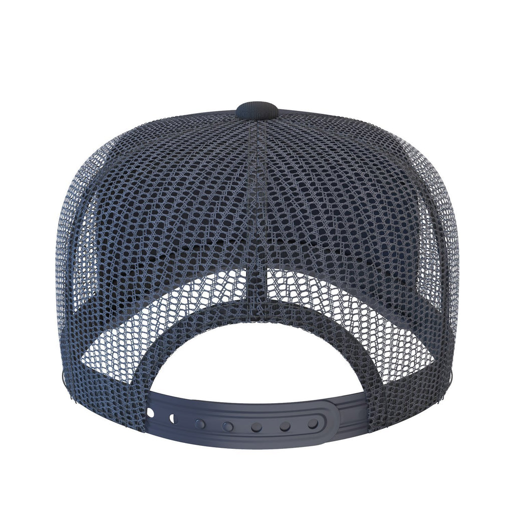 navy-blue comfortable trucker hat