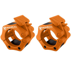 orange iron bull strength weight clips