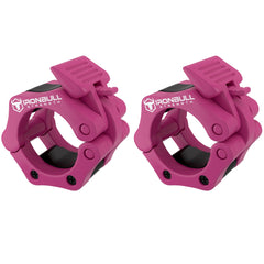 pink iron bull strength weight clips