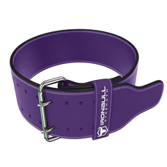 purple 10mm suede leather powerlifting belt