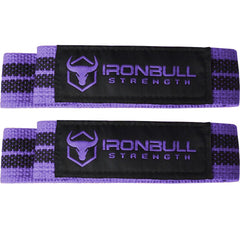 black-purple women's weight lifting straps