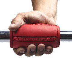 red alpha grips 2.5 inches hold Iron Bull Strength