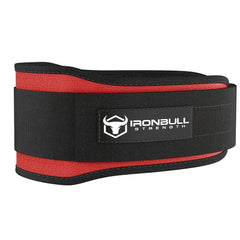 red 5 inches lifting assist belt
