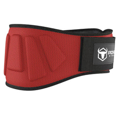 red iron bull strength 6 inches nylon weightlifting belt