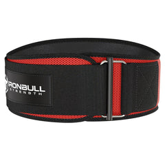 red iron bull strength 6 inches weightlifting belt