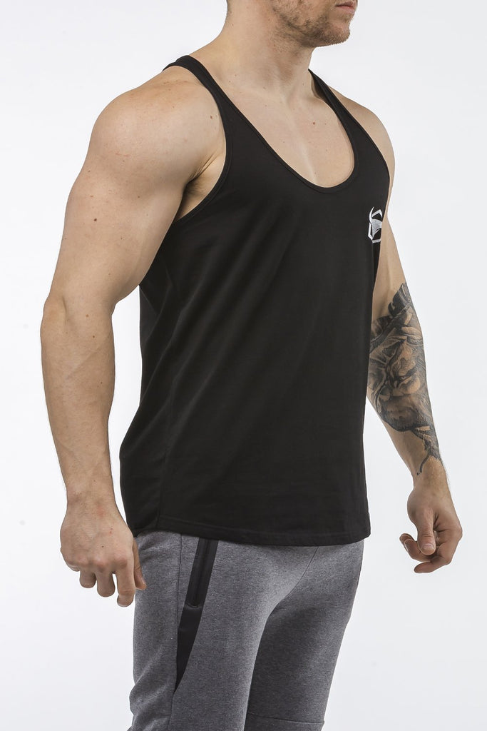 black workout stringer classic series front side